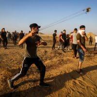 Беспорядки на границе с Газой