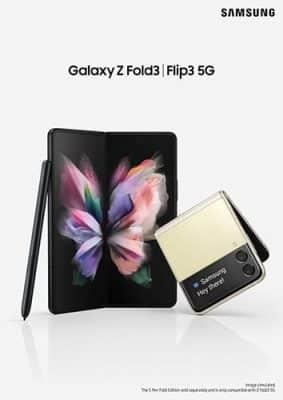 Galaxy Z Fold3, Z Flip3 фото