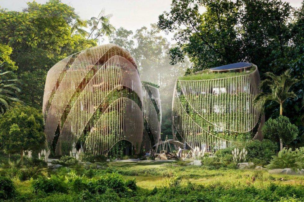 Уникальные зеленые дома фото