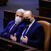 Нафтали Беннет и Яир Лапид фото
