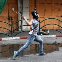 Протесты в Иудее и Самарии фото