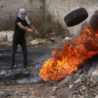 Протесты арабов фото
