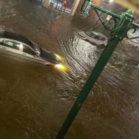 Наводнение в Нью-Йорке фото