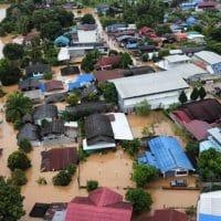 Наводнение в Таиланде фото
