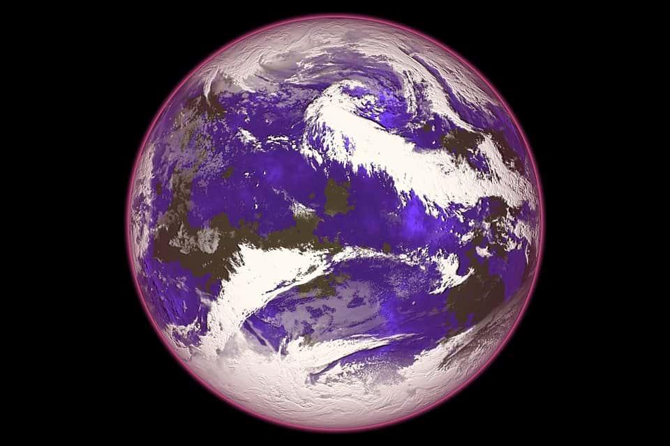 Озоновый слой Земли изображение