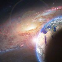 Планета космос галактика изображение