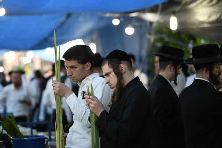 Суккот в Израиле фото