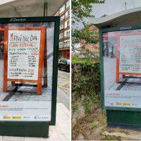 Провокационная реклама в Испании фото