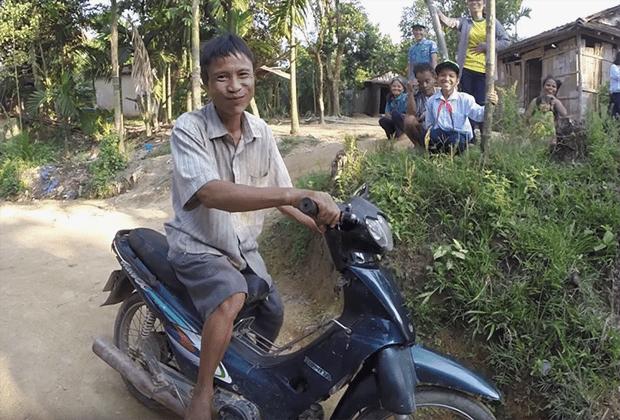 Житель Вьетнама фото