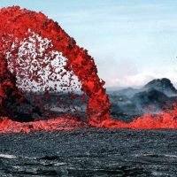 Лава вулкан фото