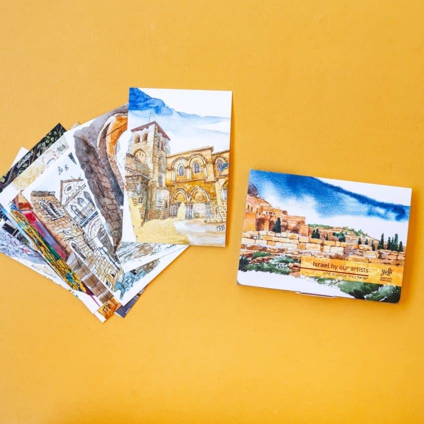 """выставка открыток """"YOFFI של ISRAEL"""""""