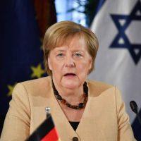 Ангела Меркель в Израиле фото