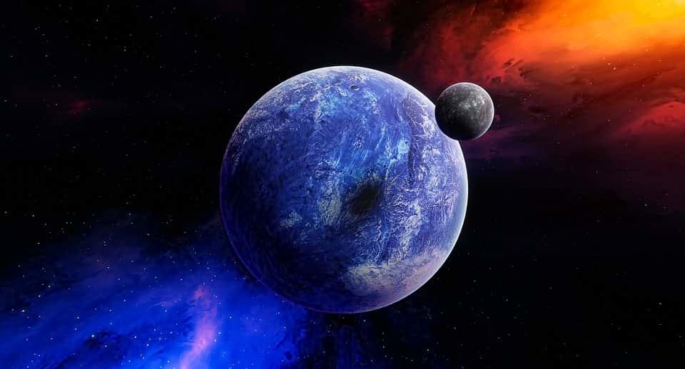 Экзопланета космос галактика изображение