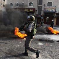 протесты МАГАВ полиция фото