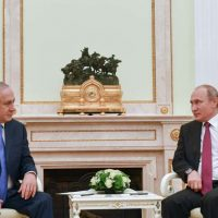 Биньямин Нетаниягу и Владимир Путин фото