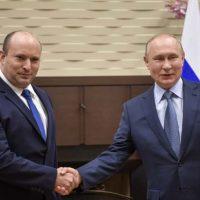 Нафтали Беннет и Владимир Путин фото