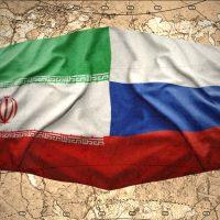 Флаги Ирана и России картинка