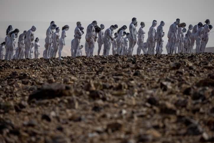 Фотосессия возле Мертвого моря фото
