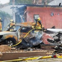 Крушение самолета в США фото