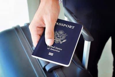 Паспорт США фото