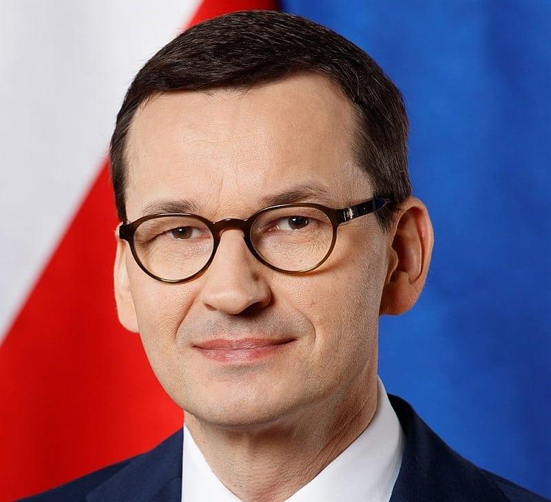Премьер-министр Польши Матеуш Моравецкий фото