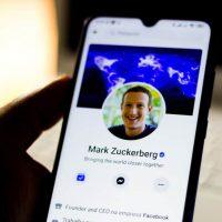 Профиль Марка Цукерберга в Facebook фото