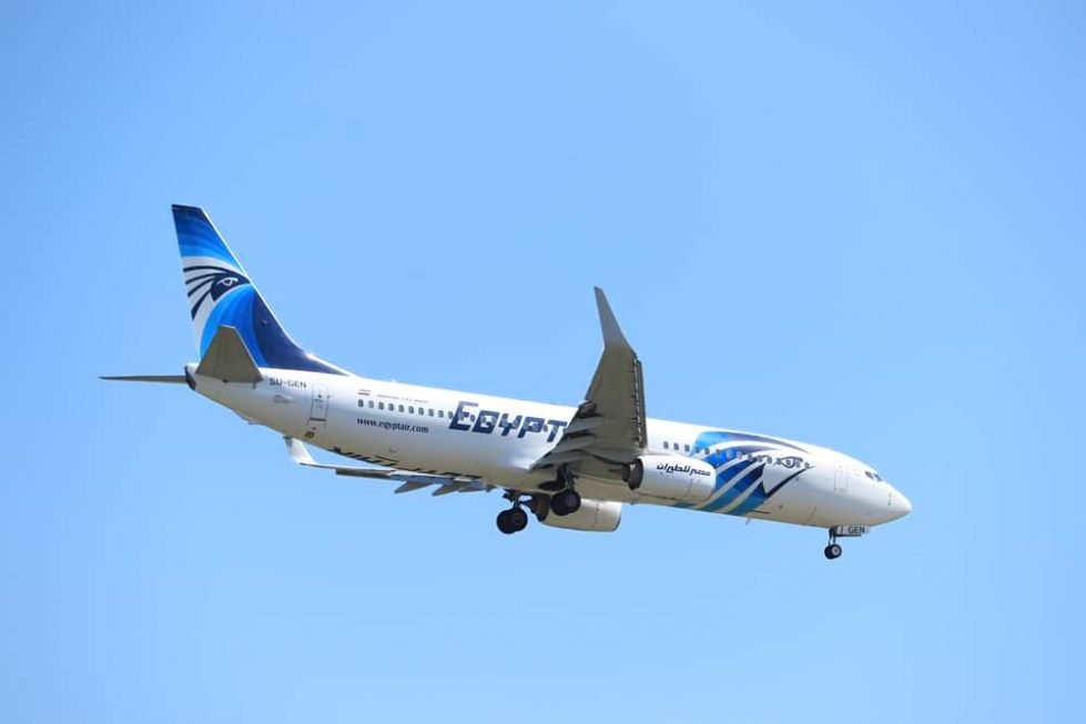 Самолет Egyptair фото