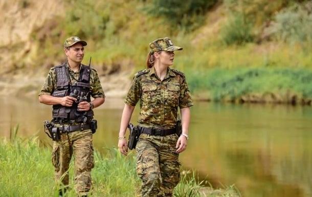Сотрудники погранслужбы Польши фото