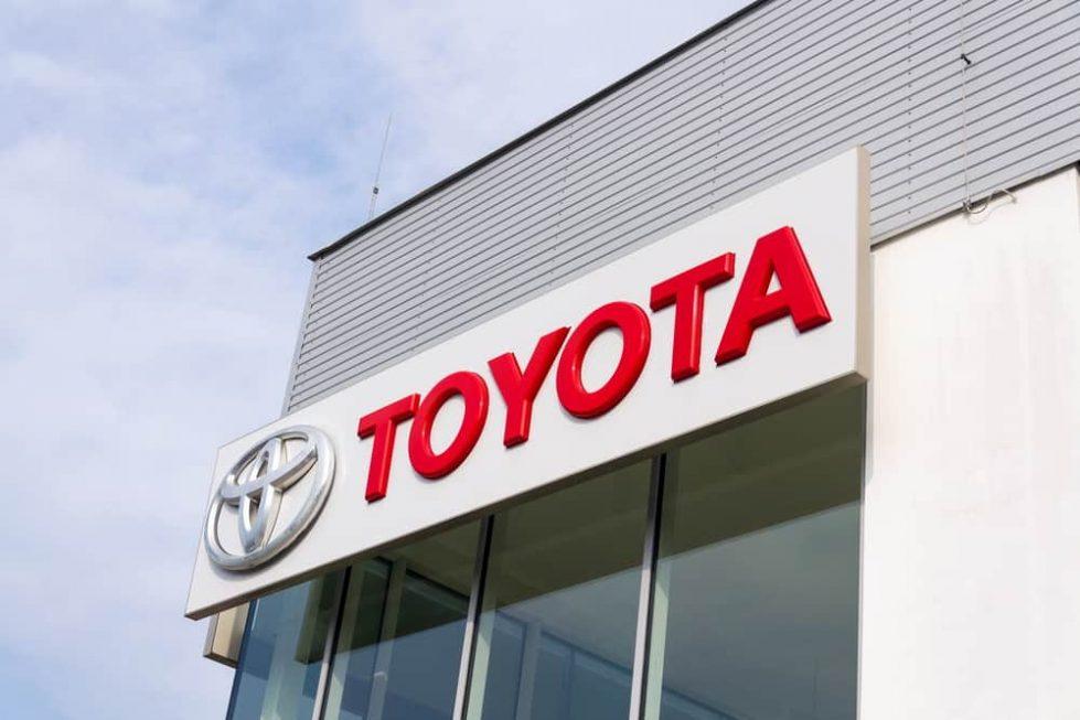 Toyota логотип фото