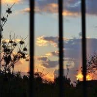 Заход солнца Ливан фото