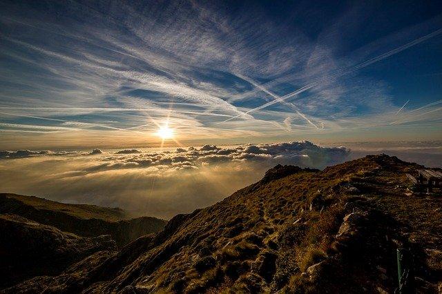 Облачное небо фото